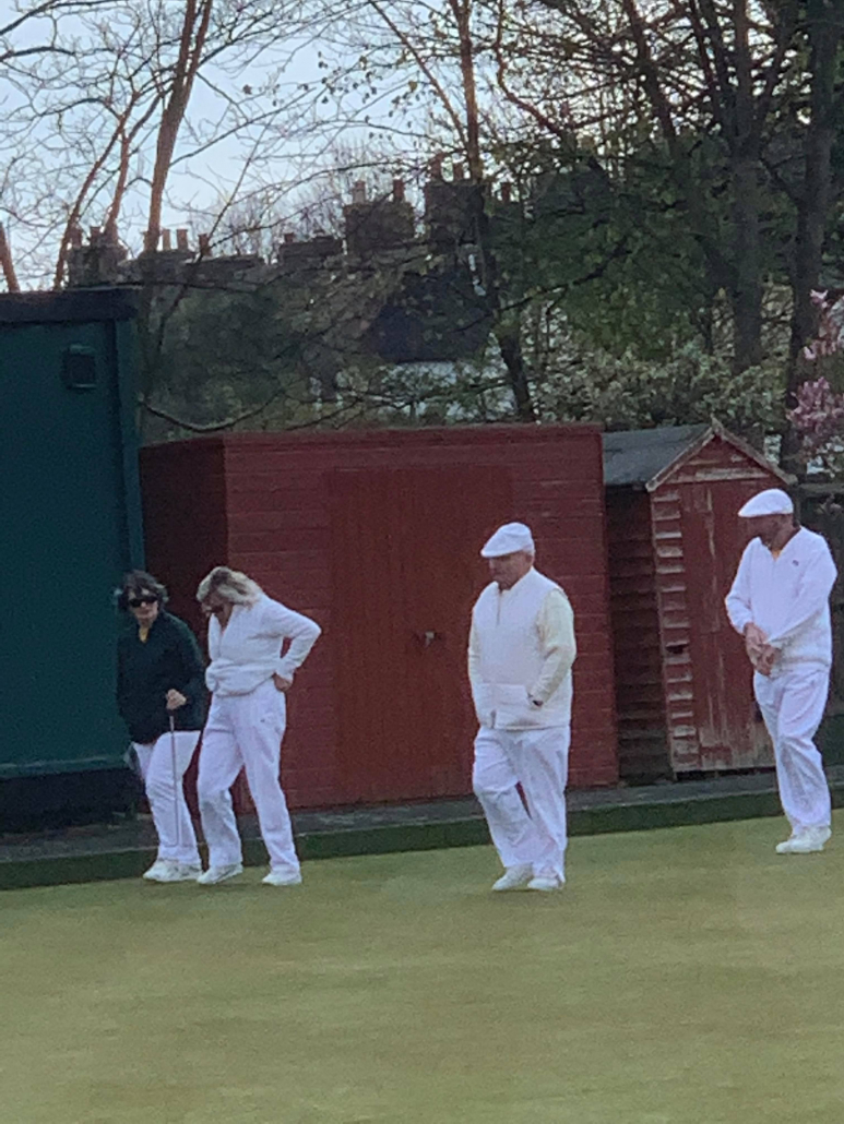 members of the bowls team