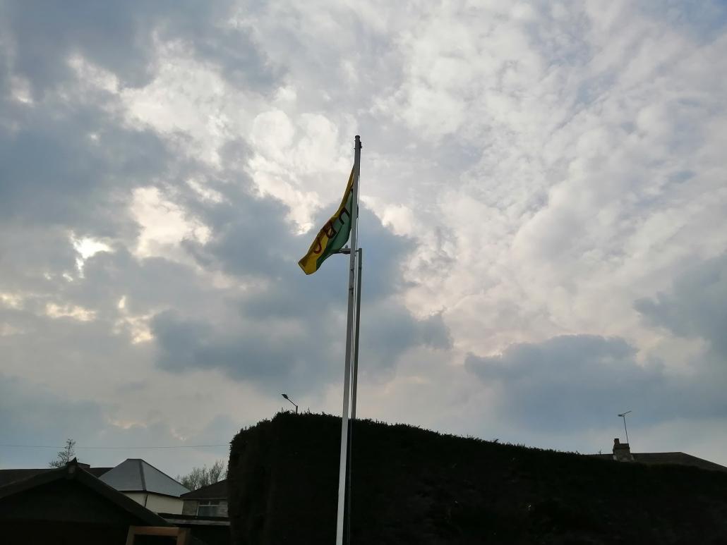 The bowls club flag