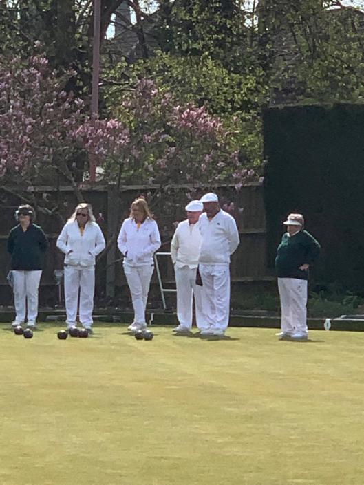 ashford bowls club in action