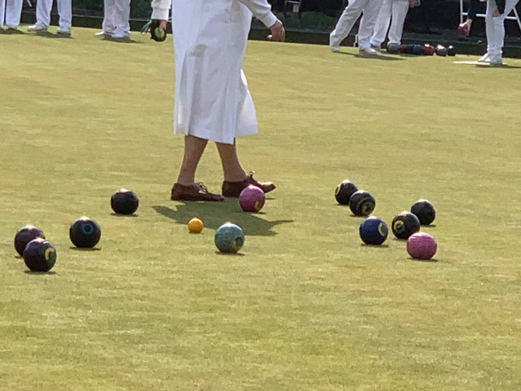 Bowls on the pitch
