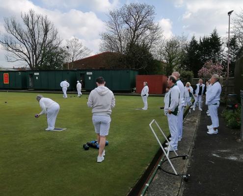 The Bowls Club at Ashford Railway Club (Kent)